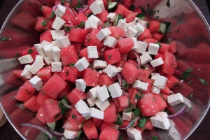 watermelon salad9